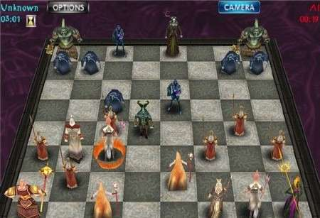War Chess 3D (2010) sis