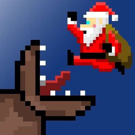 Super Mega Worm Vs Santa v 1.0 [iPhone/iPod Touch+iPad]