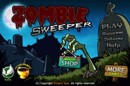 Zombie Sweeper [1.0] [iPhone/iPad Touch]