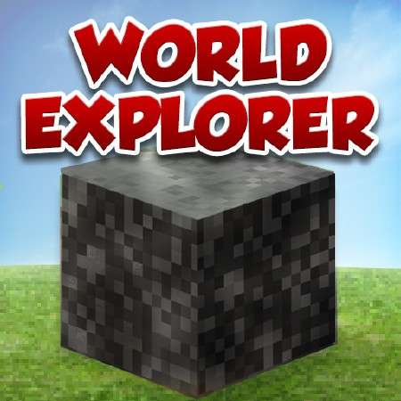 World Explorer - Made for MineCraft v1.5 [iPhone/iPod Touch]
