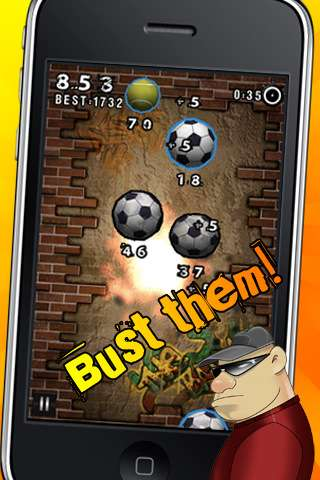 The Balls! Extreme Sports Ball Busting! [1.0.3] [iPhone/iPod Touch]