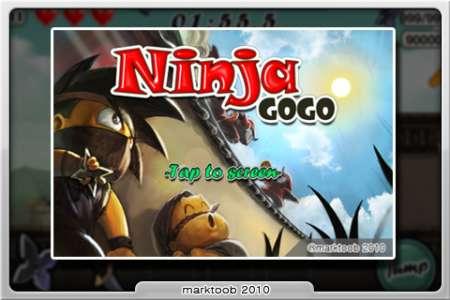 Ninja GoGo [1.02] [iPhone/iPad Touch]