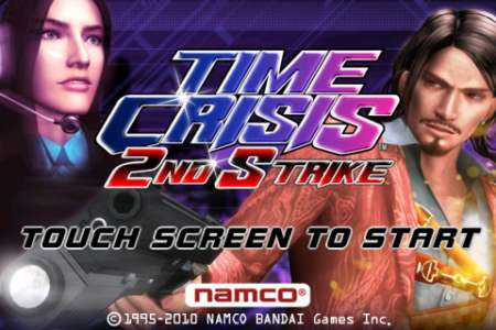 TIME CRISIS 2ND STRIKE [1.3.0] [iPhone/iPod Touch]