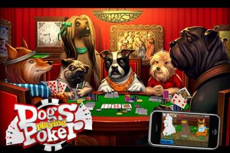 Dogs Playing Poker [1.2.2] [iPhone/iPod Touch]
