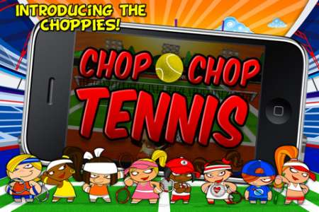 Chop Chop Tennis [1.7] [iPhone/iPod Touch]