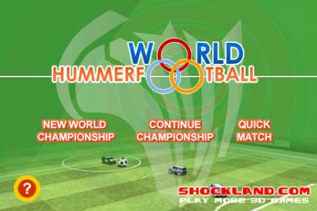 World Hummer Football 2010 [1.1] [iPhone/iPod Touch]