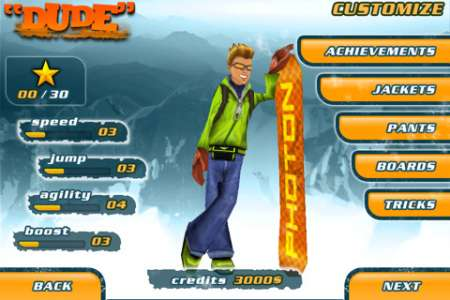 Snowboard Hero [1.0] [iPhone/iPod Touch]