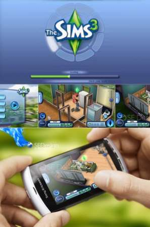 Symbian 9.4  Sims 3 HD Full [2010 г, 640*360, лицензия, EA Mobile, ENG]