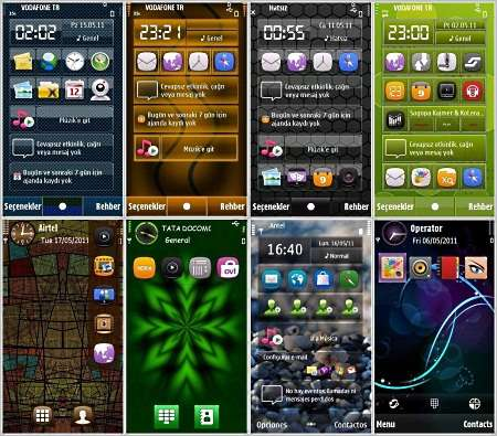 New Themes for Nokia S60 5th