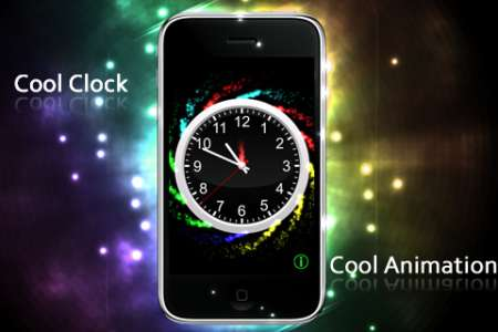 Animated Clock [1.0] [iPhone/iPod Touch]