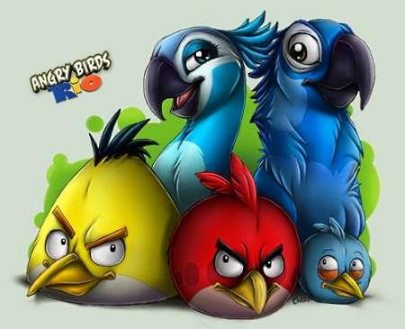 Angry Birds Rio v.1.2.0 (Symbian^3)