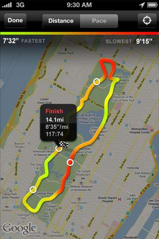 Nike+ GPS [3.1] [iPhone/iPod Touch]