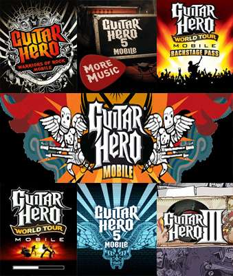 Сборник Guitar Hero Mobile 7 частей