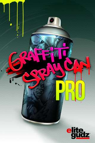 Graffiti Spray Can PRO v1.0 [Программы для iPhone/iPod Touch]