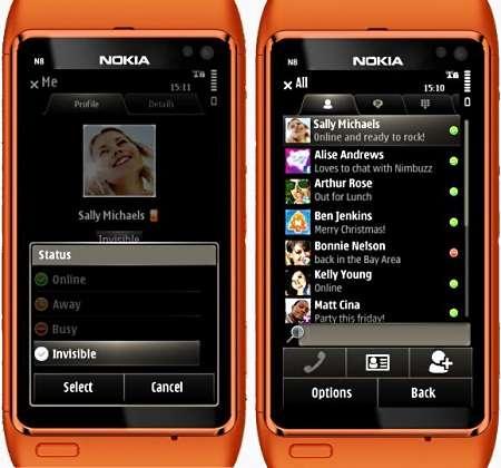Nimbuzz v.3.2.2 (Symbian OS 9.4, S^3)