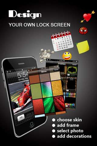 Lock Screen Designer v1.2.0 [ipa/iPhone/iPod Touch]
