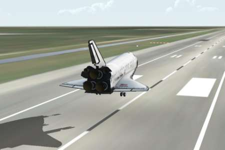 F-SIM Space Shuttle v2.0 [ipa/iPhone/iPod Touch]