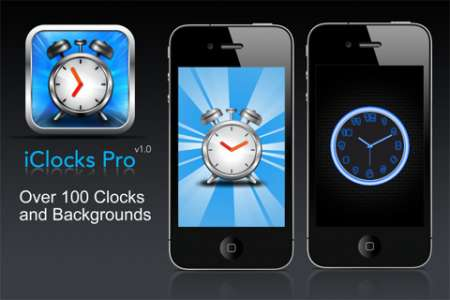 iClocks Pro v1.1 [ipa/iPhone/iPod Touch]