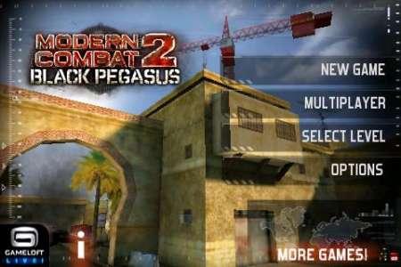 [HOT] Modern Combat 2: Black Pegasus v1.2.6 [Gameloft] [Игры для iPhone]