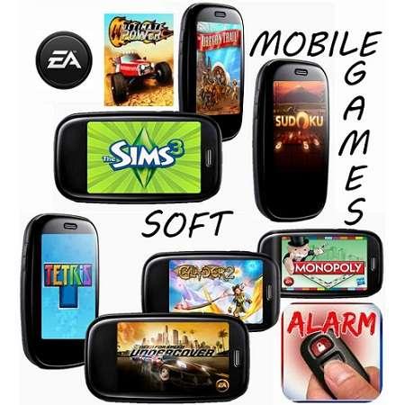 Большой сборник 3D игр и программ на мобильник (2009-2011,все экраны)