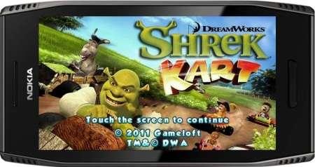 Shrek Kart HD (2011/ENG/Symbian^3)