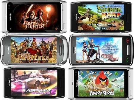 Сборник игр для OS Symbian^3