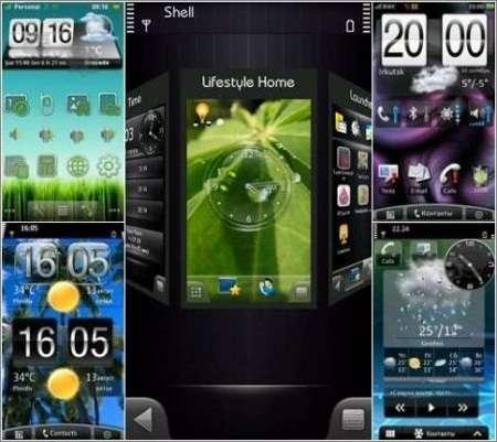 SPB Mobile Shell 3.7.673 + 57 Скина (Symbian 9.4, S^3)