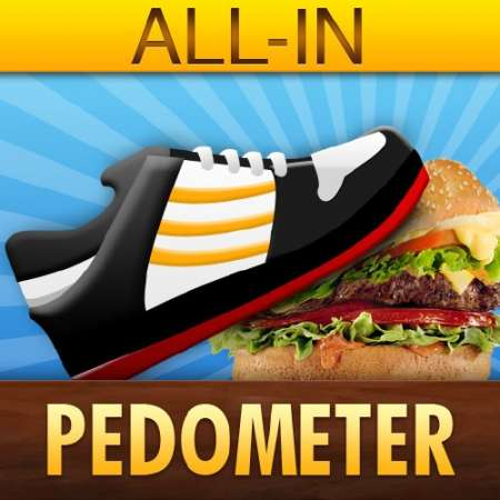 Шагомер (All-in Pedometer) v2.1.7 [RUS] [ipa/iPhone/iPod Touch]