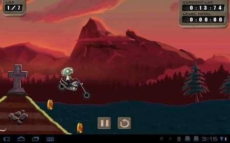 Zombie Rider v.1.00 (2011/ENG/Symbian^3)