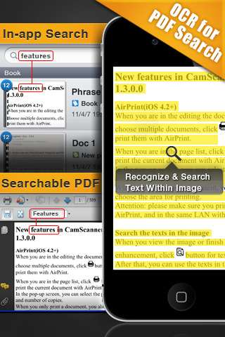 CamScanner+ v1.2.0.1 [ipa/iPhone/iPod Touch]