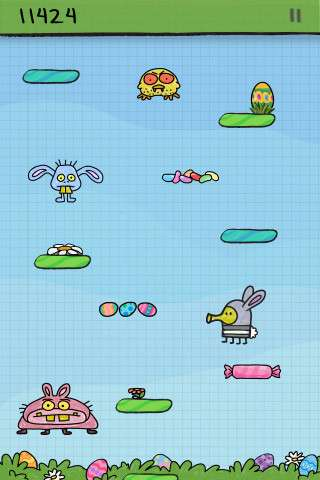 Doodle Jump - BE WARNED: Insanely Addictive! v2.6 [Игры для iPhone]