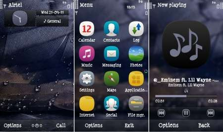 New Themes for Symbian^3 №2