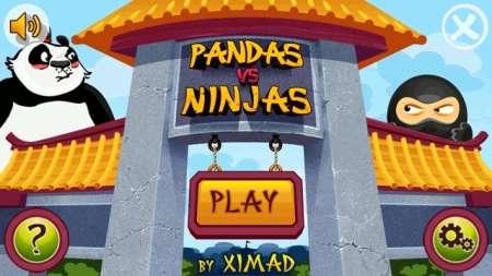Pandas vs Ninjas v.1.1 (2011/ENG/Java)