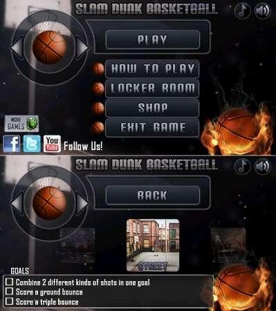 Slam Dunk Basketball v.1.00 (2011/ENG/Symbian^3)