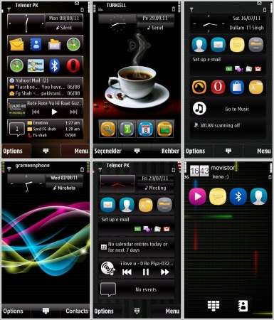 New Themes for Symbian 9.4 №8