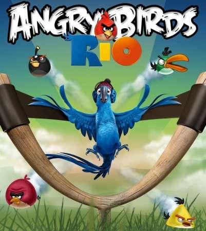 Angry Birds Rio v.1.3.2 (2011/Symbian^3/Eng)