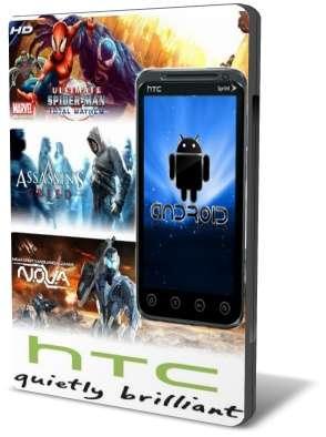 Android 3D Игры с Кэшом для HTC EVO (2011/ENG)