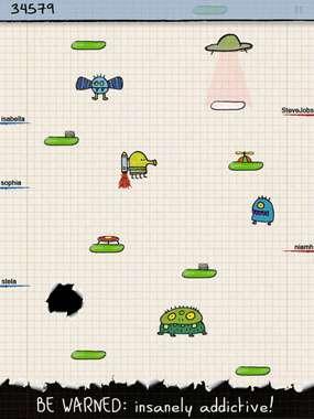Doodle Jump v1.2 [игры для iPad]