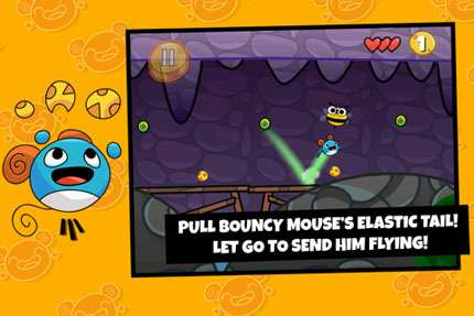Bouncy Mouse v1.10.05 [игры для iPhone]