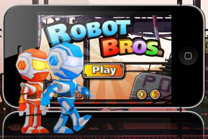 Robot Bros v1.2 [игры для iPhone]