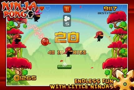 Ninja Pong v1.0 [игры для iPhone]