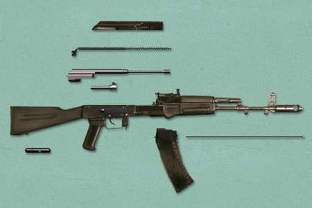 AK-47 Fast Disassembly v1.0 [.ipa/iPhone/iPod Touch]