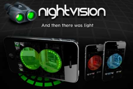 Night Vision+ v1.5 [.ipa/iPhone/iPod Touch]