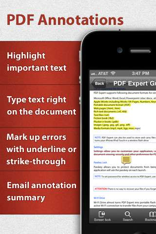 PDF Expert v2.1.1 [.ipa/iPhone/iPod Touch]