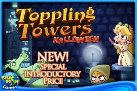Toppling Towers: Halloween v1.0.0 [.ipa/iPhone/iPod Touch]