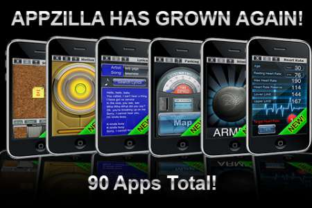 90 in 1 : APPZILLA! v3.0 [RUS] [.ipa/iPhone/iPod Touch]