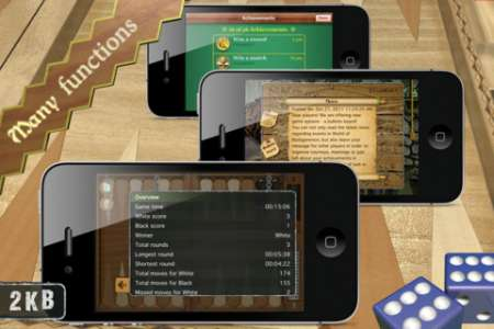 Masters of Backgammon v1.3.4 [RUS] [Игры для iPhone/iPad]