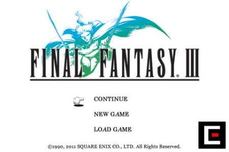 FINAL FANTASY III v1.1.1 [.ipa/iPhone/iPod Touch]
