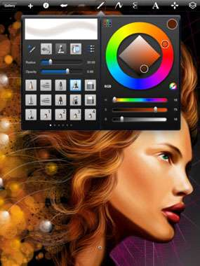 SketchBook Pro for iPad v2.2 [Программы для iPad]