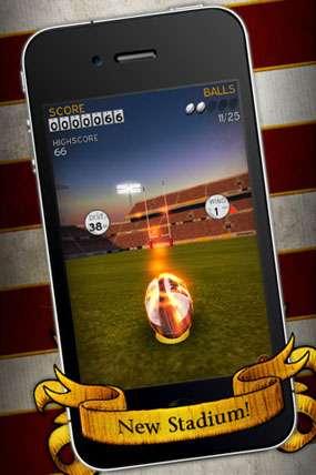 Flick Kick Rugby v1.6.0 [Игры для iPhone]